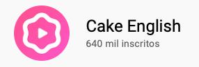 101 canais do YouTube para aprender inglês de graça Cake English