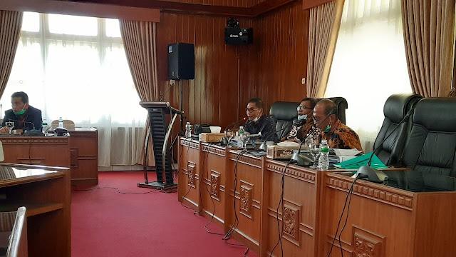 Raker Komisi I DPRD Sumbar dengan Mitra Kerja, Ini yang Dibahas.