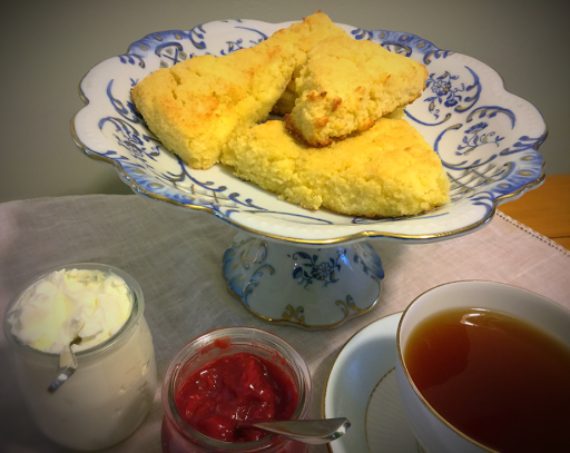 Best Low Carb Vanilla Cream Scones