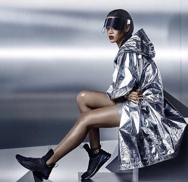 Rihanna's FENTY x PUMA The Trainer