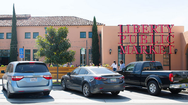 photo of the outside of Liberty Public Market