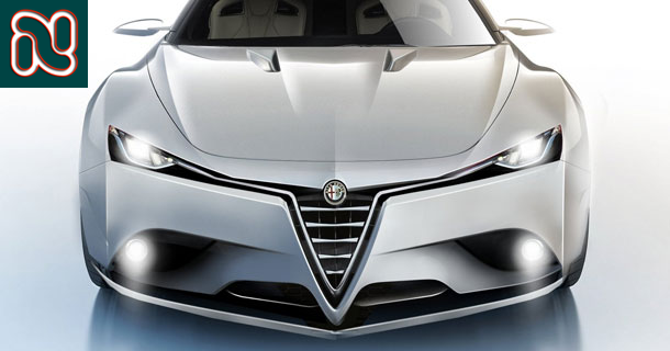 New Alfa-Romeo Sedan