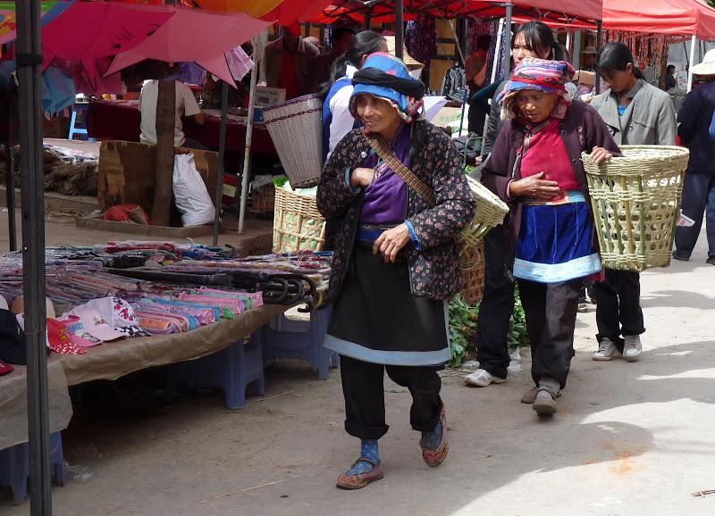 le marché du vendredi à Sha Xi