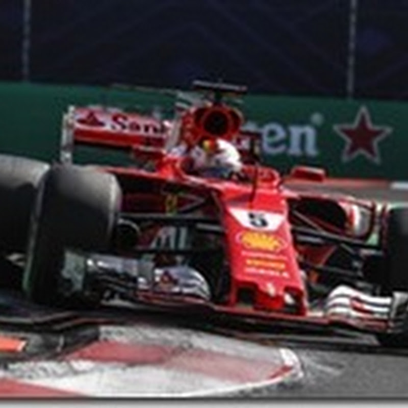 GP del Messico: Vettel in pole