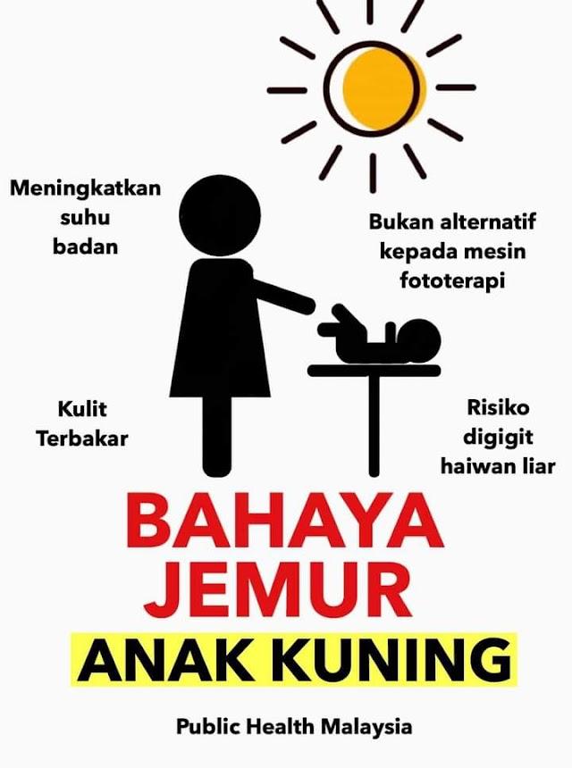 Bahaya Menanti Bayi Kuning Dijemur Bawah Matahari!