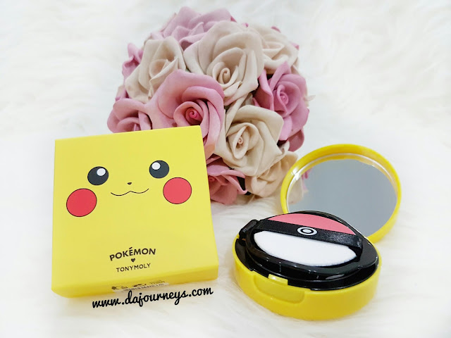 Tony Moly Pikachu Mini Cushion Blusher