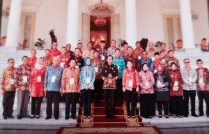 Diundang Jokowi Walikota Malah Minta Naik Gaji