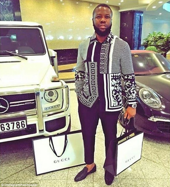 Hushpuppi Flaunts 'Original' Patek Philippe Watch After Slamming Ice Prince & Phyno For Wearing Fake (Photos)