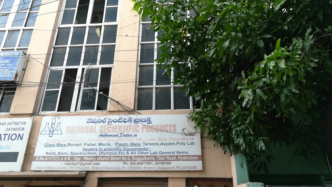 National Scientific Products - Chemical Exporter in Hyderabad