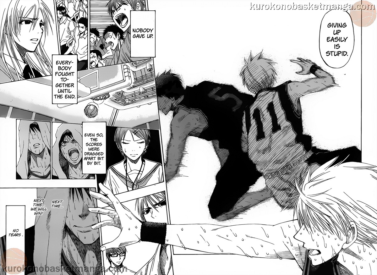 Kuroko no Basket Manga Chapter 51 - Image 16-17