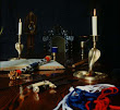 Book Of Shadows And Some Ritual Regalia