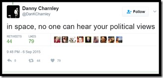 Danny Charnley tweet