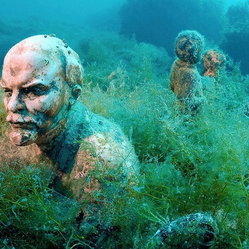 Underwater Museum at Cape Tarkhankut