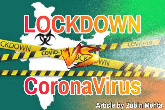 LOCKDOWN vs CORONAVIRUS