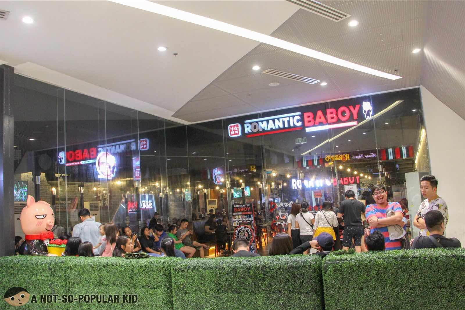 Romantic Baboy in SM Light Mall in Boni MRT
