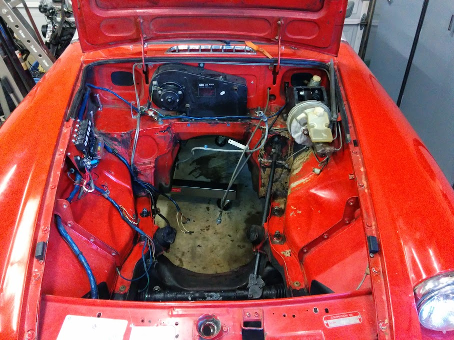 mgb wiring harness routing 75    mgb    3 4 v6 build thread  page 3  mg engine swaps  75    mgb    3 4 v6 build thread  page 3  mg engine swaps