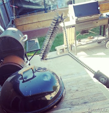 Stainless Steel BBQ Grill Brush @AlphaGrillers Review #AlphaGrillers
