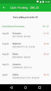 Ebates Cash Back & Coupons- screenshot thumbnail