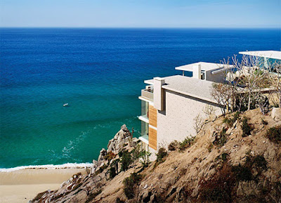 Casa Finisterra 2 Rumah Minimalis Indah Di Tebing Batu