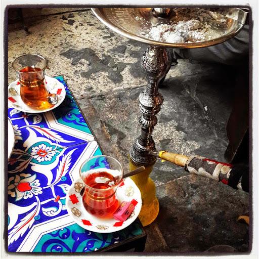 çay and nagile, Istanbul.