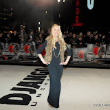 WWW.ENTSIMAGES.COM - guest  arriving  at  Django Unchained - UK film premiere at Empire Cinema, Leicester Square,London January 10th 2013 Photo Mobis Photos/OIC 0203 174 1069