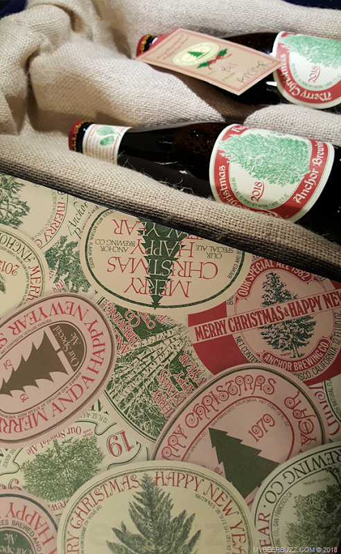 Mybeerbuzz .com Highlight Anchor Brewing Merry Christmas 2018