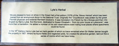 Lyte s Herbal Description