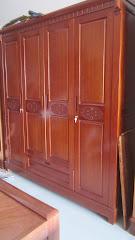 Tủ quần áo gỗ MS-181 (Còn hàng)