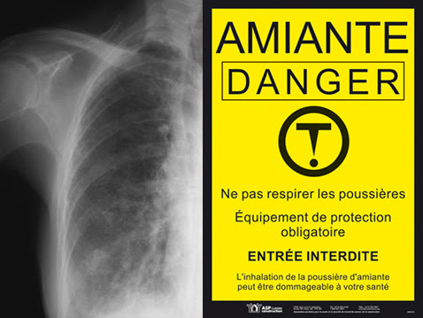 Amiante dégradée - Danger !!
