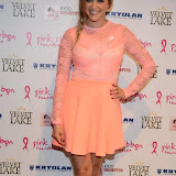 WWW.ENTSIMAGES.COM -   Anna Williamson  at      Filippo iOco's PINK London 2014 at Gilgamesh, The Stables Market, LondonSwiss body painter iOco throws official London launch party for Breast Cancer Awareness Month. The night is sponsored by Kryolan, and featues a fine art and body painting showcase, with all proceeds going to the Pink Ribbon Foundation.                                                Photo Mobis Photos/OIC 0203 174 1069