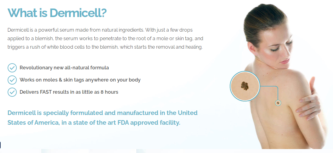 Dermicell Mole & Skin Tag Corrector Serum - PromoSimple Giveaways Directory