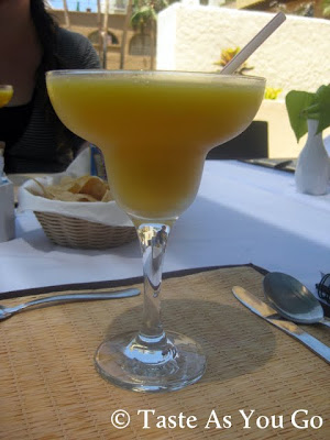 Frozen Mango Margarita at the Wyndham Cabo San Lucas in Cabo San Lucas, Mexico - Photo by Michelle Judd of Taste As You Go