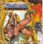 Comics vintage - MASTERS DEL UNIVERSO Libros Distein #06 El reloj cosmico - TIMUM MAS Noviembre 1985 (ESP)