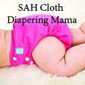 SAH Cloth Diapering Mama