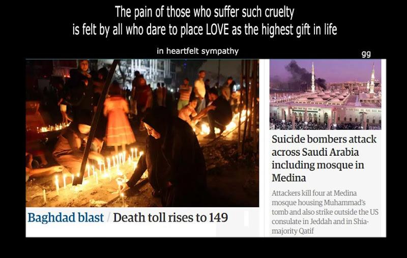 Bagdad Saudi blasts