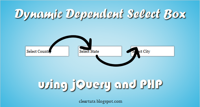 Dynamic Dependent Select Box using PHP and jQuery