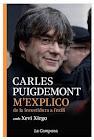 Portada de M'Explico - Carles Puigdemont