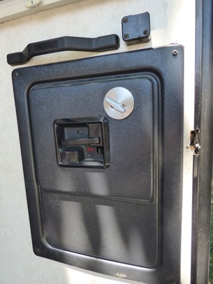 Door Latch Mechanism Cover Plate