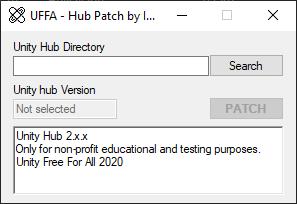UFFA - Hub Patch