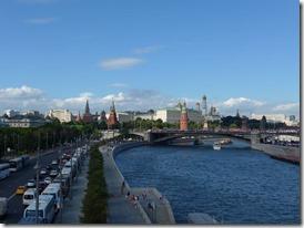 kremlin vue depuis la moscova