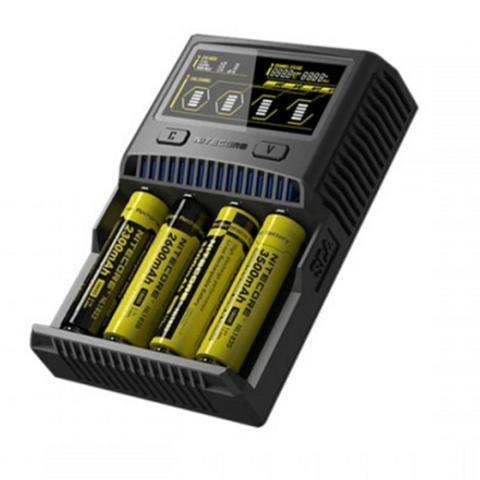 sc4 2 thumb%255B2%255D - 【バッテリー/充電器】「NITECORE Superb Charger SC4」(ナイトコア・スーパービーチャージャー・エスシーフォー)レビュー。3A*2で最大6A給電可能な最強充電器!【VAPE/電子タバコ/アクセサリ】
