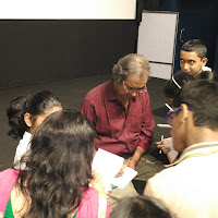 Film Show and interaction with junior batch by Mike Pandey