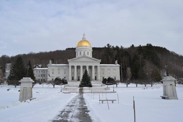 Капитолий штата Вермонт, Монтпилиер, штат Вермонт (Montpelier, VT)
