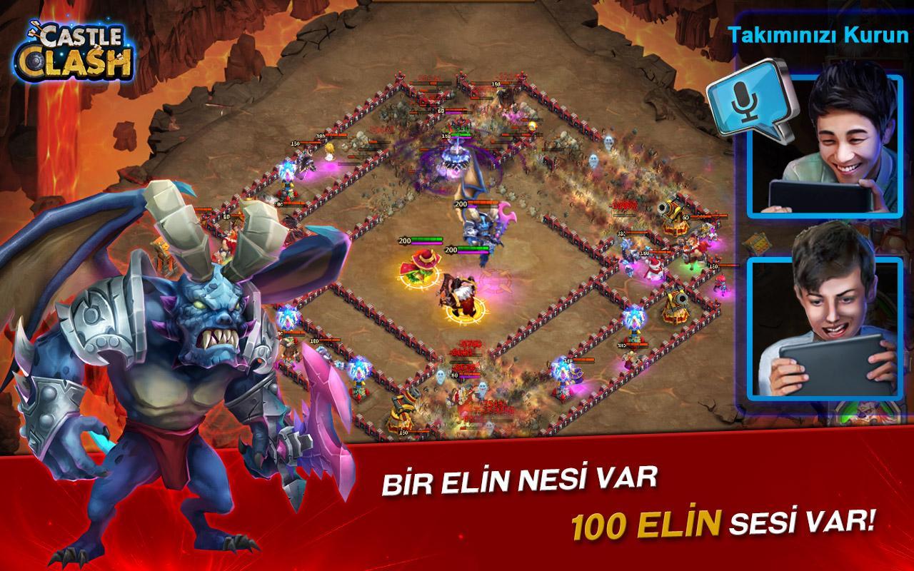 Screenshots of Castle Clash Pet Devri for iPhone