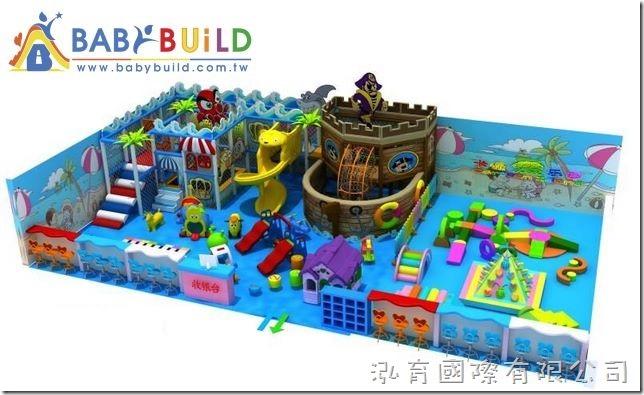BabaBuild 室內3D泡管遊具