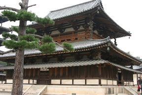 Main hall of Horyu-ji Temple