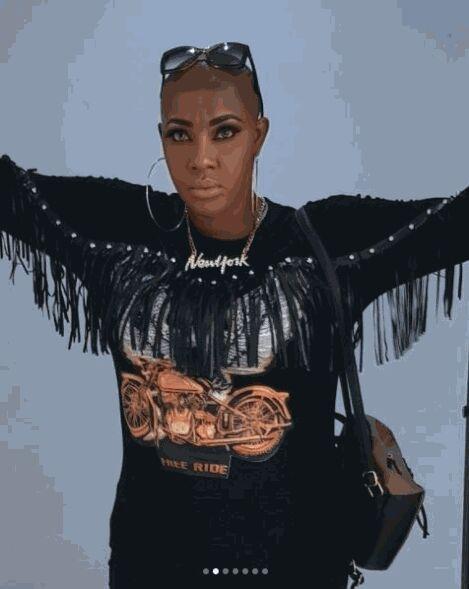 Nollywood Actress Angela Okorie goes Bald