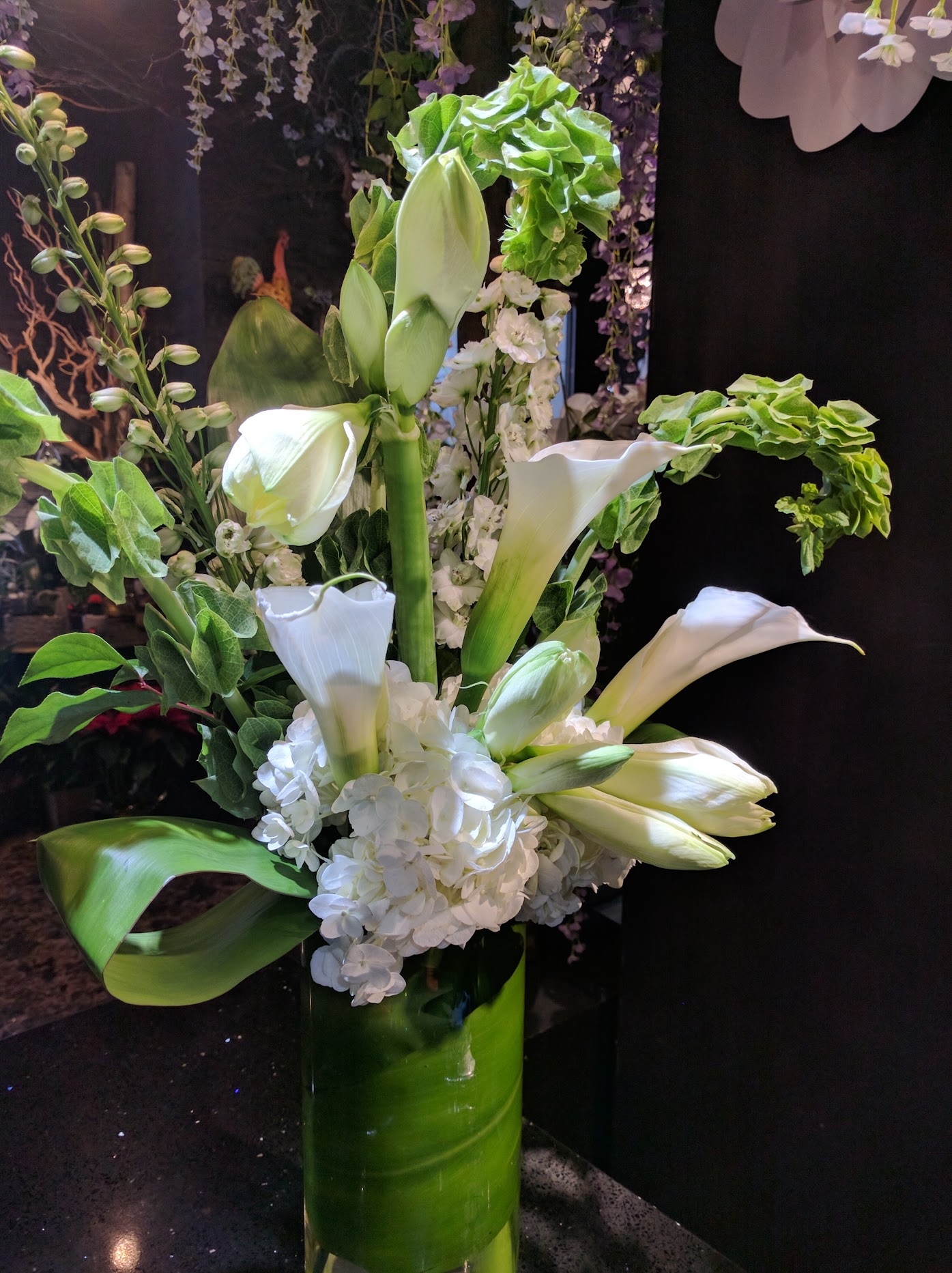 Tall Arrangement white
