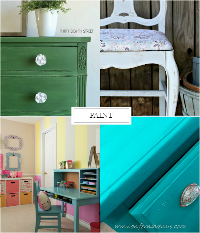 The Inspiration Board featuring Paint
