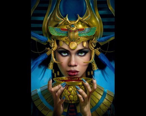 Magick Of Holy Sorceress, Egyptian Magic